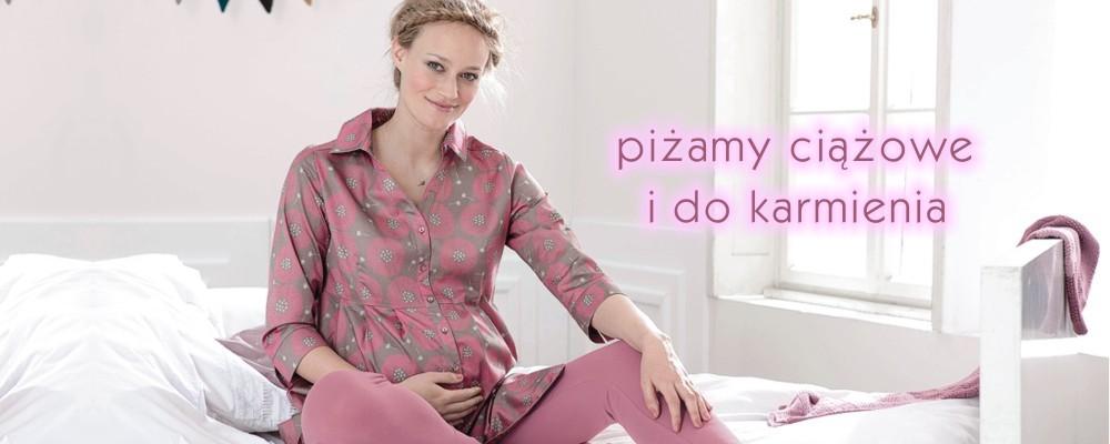 piżamy ciążowe i do karmienia